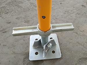 Scaffolding Swivel Base Jack