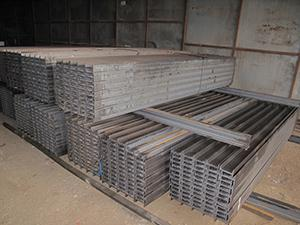 Scaffolding Wide Flange Beam